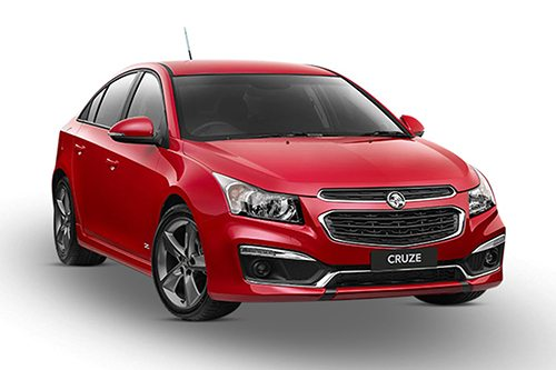 The classic cruze with a meatier exterior and re-designed bumper