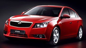 A shiny red sedan from Holden, the Viva, has all that you ask for, from a budget sedan