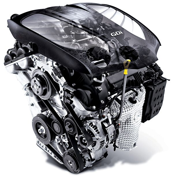 Reconditioned Hyundai GDi engine with 12 month nationwide parts and labour warranty