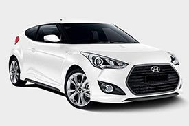 Latest and greatest in Veloster series, the sporty Hyundai FS5 is what you would want for short drive