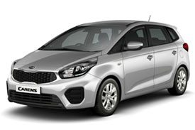 First in the range of Kia Carens, family hatchbacks with stylish looks