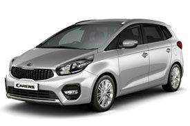 Kia's latest hatchback, the Carens 3, in body colored sunroof and all new rims
