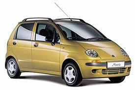 Got a small family? Don't want to invest in a sedan, take a look at the compact hatchback Matiz M100