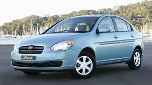 Want an old refurbished and reconditioned Hyundai Accent? We have a sky blue one that you will love