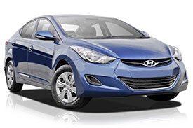 The all new cobalt blue Hyundai i30 model named MD2 in all its glory