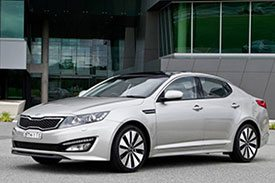 Are you into Sports sedan? Then you will love the Kia Optima GT TF, designed to perform