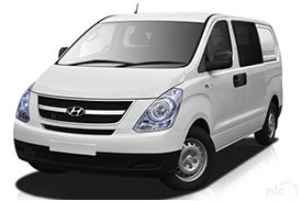 The all new iLoad TQ2-V, a multipurpose utility vehicle and van from Hyundai