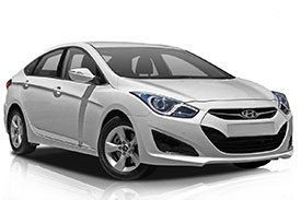 The second model of the i40 line-up, the Hyundai VF2 in all white paint