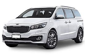 Latest version of the Kia Carnival, the YP series adds a makeover to the old design